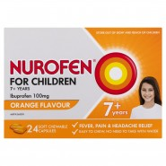 NUROFEN FOR CHILDREN SOFT CHEWABLE CAPSULES